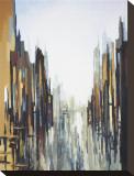 Abstraction urbaine no 141 Tableau sur toile par Gregory Lang