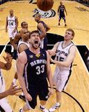 Memphis Grizzles v San Antionio Spurs - Game One  San Antonio  TX - April 17: Marc Gasol
