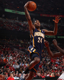 Indiana Pacers v Chicago Bulls - Game Two  Chicago  IL- April 18: Paul George