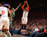 Boston Celtics v New York Knicks - Game Four  New York  NY - April 24: Carmelo Anthony and Paul Pie