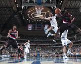 Portland Trailblazers v Dallas Mavericks - Game Five  Dallas  TX - April 25: Andre Miller and Tyson