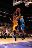 New Orleans Hornets v Los Angeles Lakers - Game Five  Los Angeles  CA - April 26: Matt Barnes