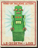 Lois Box Art Robot