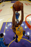 New Orleans Hornets v Los Angeles Lakers - Game Five  Los Angeles  CA - April 26: Wally Skalij