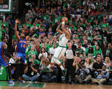 New York Knicks v Boston Celtics - Game One  Boston  MA - April 17: Paul Pierce and Ronny Turiaf