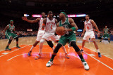 Boston Celtics v New York Knicks - Game Four  New York  NY - April 24: Paul Pierce  Amar&#39;e Stoudemi