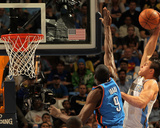 Oklahoma City Thunder v Denver Nuggets - Game Four  Denver  CO - April 25: Danilo Gallinari and Ser
