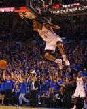 Denver Nuggets v Oklahoma City Thunder - Game One  Oklahoma City  OK - April 17: Russell Westbrook