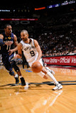 Memphis Grizzlies v San Antonio Spurs - Game One  San Antonio  TX - April 17: Tony Parker and Mike