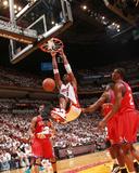 Philadelphia 76ers v Miami Heat - Game Two  Miami  FL - April 18: Chris Bosh and Elton Brand