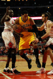 Indiana Pacers v Chicago Bulls - Game Five  Chicago  IL - April 26: Danny Granger  Loul Deng and Jo