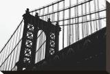 Manhattan Bridge Silhouette