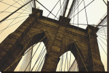 Brooklyn Bridge II (sepia)