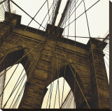 Brooklyn Bridge II (sepia) (detail)