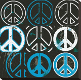 Peace Mantra (blue)