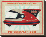 Patrol Craft 338  Box Art Tin Toy