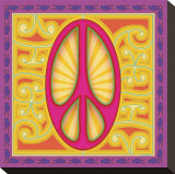 Peace sign (pink)