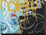 Yellow Aqua Graffiti II