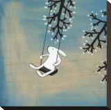 Suivez votre coeur, balançant tranquillement Tableau sur toile par Kristiana Pärn