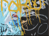 Yellow Aqua Graffiti II