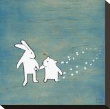 Follow Your Heart, Go Together Tableau sur toile par Kristiana Pärn