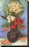 Vase with Carnations and Other Flowers  c1886
