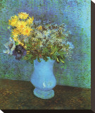 Vase with Lilacs  Daisies and Anemone