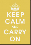 Keep Calm (mustard)