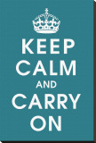 Keep Calm (peacock)