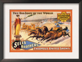 Ben Hur Chariot Races: Sells Brothers&#39; Enormous United Shows