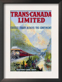Trans-Canada Limited  Fastest Train Across the Continent