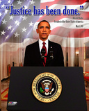 Obama - Justice Has Been Done - May 1  2011
