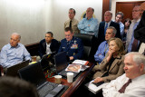 President Obama before statement to the media of the mission against Osama bin Laden  May 1  2011
