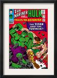Tales To Astonish 79 Cover: Hulk and Hercules