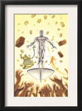 Marvel Adventures Fantastic Four 28 Cover: Silver Surfer