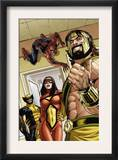 Assault on New Olympus Prologue 1 Group: Hercules  Spider Woman  Spider-Man and Wolverine