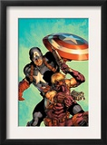Ultimate Avengers 2 Cover: Hawkeye and Captain America