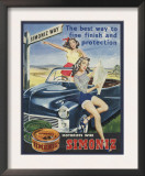Simoniz Girls on Car