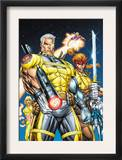 X-Force 1 Cover: Cable  Shatterstar and Cannonball