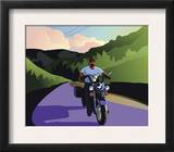 Male Motorcycle Rider