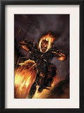 Ghost Rider 20 Cover: Ghost Rider Fighting