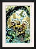X-Men: First Class Giant-Size Special 1 Cover: Beast  Cyclops  Marvel Girl  Angel and Iceman
