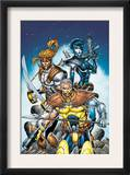 X-Force 6 Cover: Cable  Shatterstar and Domino