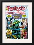 The Fantastic Four 3 Cover: Mr Fantastic