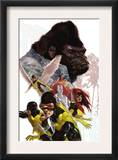 X-Men: First Class 8 Cover: Cyclops  Marvel Girl  Angel and Gorilla Man