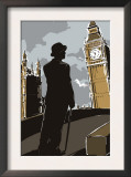 British Male in Suit  Big Ben