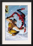 What If Spider-Man Vs Wolverine 1 Cover: Spider-Man and Wolverine