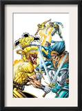 X-Force Volume 2 3 Cover: Shatterstar  Sunspot  Cable and X-Force