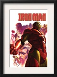 Iron Man 15 Cover: Iron Man  Hulk  Thor  Stark and Tony