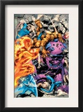 Fantastic Four 570 Group: Human Torch  Invisible Woman  Thing and Mr Fantastic